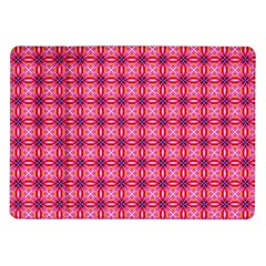 Abstract Pink Floral Tile Pattern Samsung Galaxy Tab 10 1  P7500 Flip Case