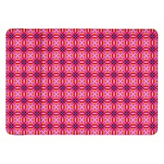 Abstract Pink Floral Tile Pattern Samsung Galaxy Tab 8 9  P7300 Flip Case