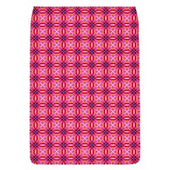Abstract Pink Floral Tile Pattern Removable Flap Cover (large)