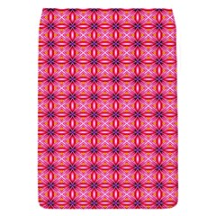 Abstract Pink Floral Tile Pattern Removable Flap Cover (small)