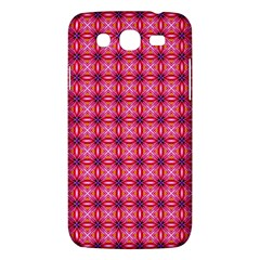 Abstract Pink Floral Tile Pattern Samsung Galaxy Mega 5 8 I9152 Hardshell Case