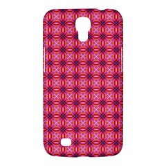 Abstract Pink Floral Tile Pattern Samsung Galaxy Mega 6 3  I9200 Hardshell Case