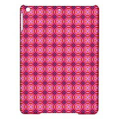 Abstract Pink Floral Tile Pattern Apple iPad Air Hardshell Case