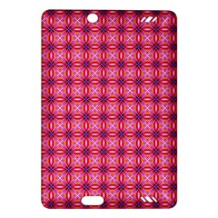 Abstract Pink Floral Tile Pattern Kindle Fire HD (2013) Hardshell Case