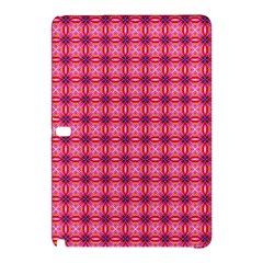 Abstract Pink Floral Tile Pattern Samsung Galaxy Tab Pro 10.1 Hardshell Case