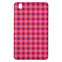 Abstract Pink Floral Tile Pattern Samsung Galaxy Tab Pro 8.4 Hardshell Case