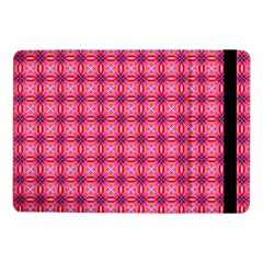 Abstract Pink Floral Tile Pattern Samsung Galaxy Tab Pro 10 1  Flip Case