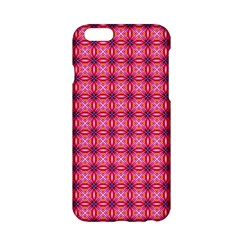 Abstract Pink Floral Tile Pattern Apple iPhone 6 Hardshell Case