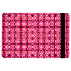 Abstract Pink Floral Tile Pattern Apple iPad Air 2 Flip Case