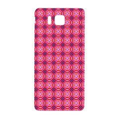 Abstract Pink Floral Tile Pattern Samsung Galaxy Alpha Hardshell Back Case