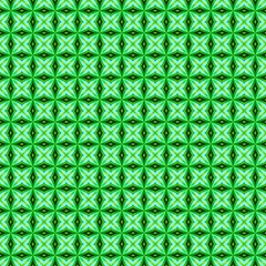 Green Abstract Tile Pattern Canvas 20  X 20  (unframed)