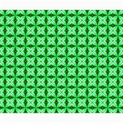 Green Abstract Tile Pattern Canvas 20  X 24  (unframed)