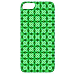 Green Abstract Tile Pattern Apple Iphone 5 Classic Hardshell Case