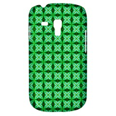 Green Abstract Tile Pattern Samsung Galaxy S3 Mini I8190 Hardshell Case