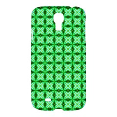 Green Abstract Tile Pattern Samsung Galaxy S4 I9500/i9505 Hardshell Case