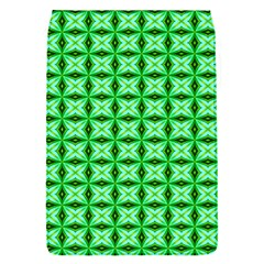 Green Abstract Tile Pattern Removable Flap Cover (small)
