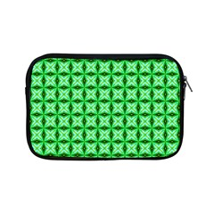 Green Abstract Tile Pattern Apple Ipad Mini Zippered Sleeve