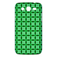Green Abstract Tile Pattern Samsung Galaxy Mega 5 8 I9152 Hardshell Case