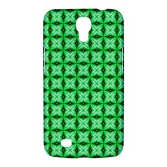 Green Abstract Tile Pattern Samsung Galaxy Mega 6 3  I9200 Hardshell Case