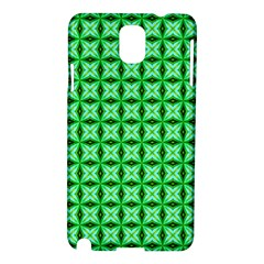 Green Abstract Tile Pattern Samsung Galaxy Note 3 N9005 Hardshell Case