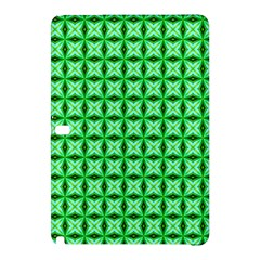 Green Abstract Tile Pattern Samsung Galaxy Tab Pro 10 1 Hardshell Case