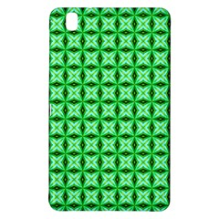Green Abstract Tile Pattern Samsung Galaxy Tab Pro 8 4 Hardshell Case