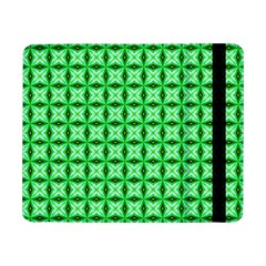 Green Abstract Tile Pattern Samsung Galaxy Tab Pro 8 4  Flip Case