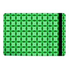 Green Abstract Tile Pattern Samsung Galaxy Tab Pro 10 1  Flip Case