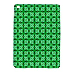 Green Abstract Tile Pattern Apple Ipad Air 2 Hardshell Case