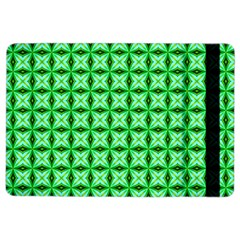 Green Abstract Tile Pattern Apple iPad Air 2 Flip Case