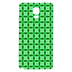 Green Abstract Tile Pattern Samsung Note 4 Hardshell Back Case