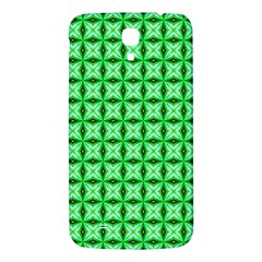Green Abstract Tile Pattern Samsung Galaxy Mega I9200 Hardshell Back Case