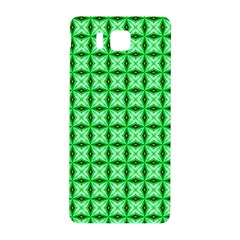 Green Abstract Tile Pattern Samsung Galaxy Alpha Hardshell Back Case