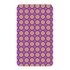 Purple Decorative Quatrefoil Memory Card Reader (rectangular)