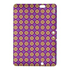Purple Decorative Quatrefoil Kindle Fire Hdx 8 9  Hardshell Case