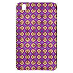 Purple Decorative Quatrefoil Samsung Galaxy Tab Pro 8.4 Hardshell Case