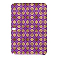 Purple Decorative Quatrefoil Samsung Galaxy Tab Pro 12 2 Hardshell Case