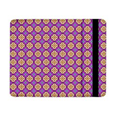 Purple Decorative Quatrefoil Samsung Galaxy Tab Pro 8 4  Flip Case