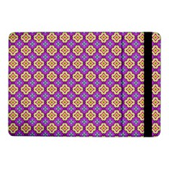 Purple Decorative Quatrefoil Samsung Galaxy Tab Pro 10.1  Flip Case