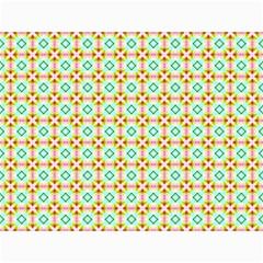 Aqua Mint Pattern Canvas 12  X 16  (unframed)
