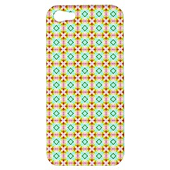 Aqua Mint Pattern Apple Iphone 5 Hardshell Case