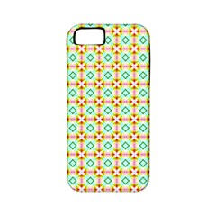 Aqua Mint Pattern Apple Iphone 5 Classic Hardshell Case (pc+silicone)