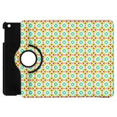 Aqua Mint Pattern Apple Ipad Mini Flip 360 Case