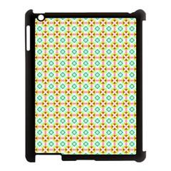 Aqua Mint Pattern Apple Ipad 3/4 Case (black)