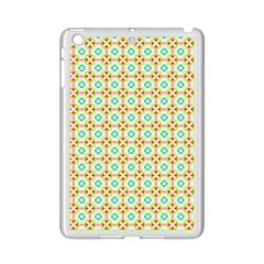 Aqua Mint Pattern Apple Ipad Mini 2 Case (white)