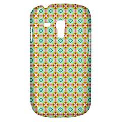 Aqua Mint Pattern Samsung Galaxy S3 Mini I8190 Hardshell Case