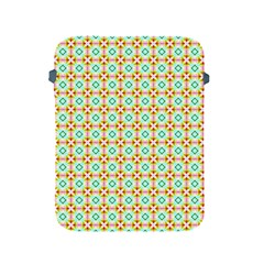 Aqua Mint Pattern Apple Ipad Protective Sleeve