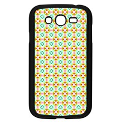 Aqua Mint Pattern Samsung Galaxy Grand Duos I9082 Case (black)