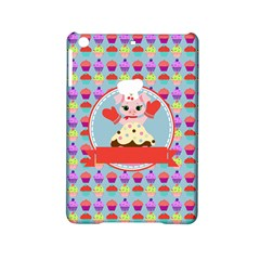 Cupcake With Cute Pig Chef Apple Ipad Mini 2 Hardshell Case