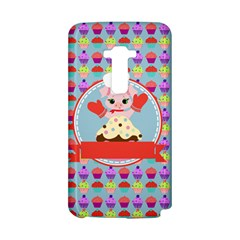 Cupcake with Cute Pig Chef LG G Flex D958 Hardshell Case